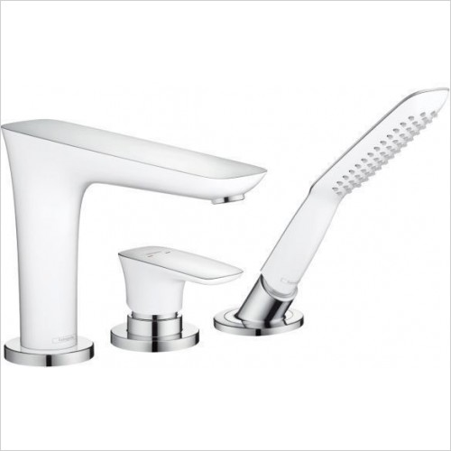 Hansgrohe Showers - Puravida Rim Mounted 3 Hole Bath Shower Mixer