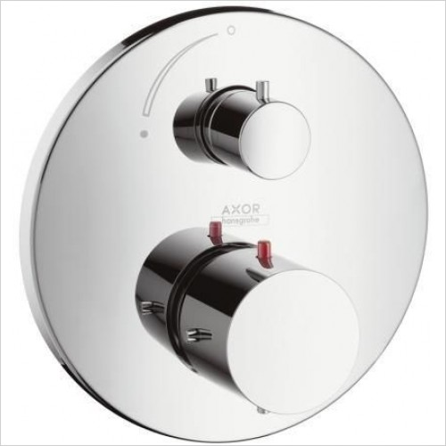 Axor Taps - Starck Thermostatic Mixer With Shut Off Valve