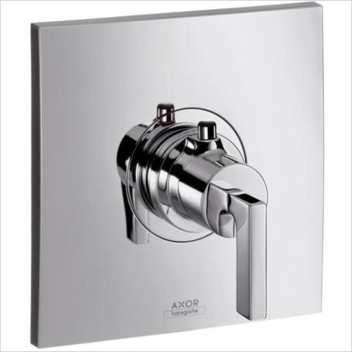 Axor Taps - Citterio Highflow Thermostatic Mixer With Lever Handle