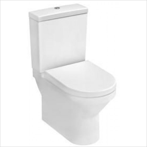 Vitra Toilets - S50 Compact Close-Coupled WC Pan