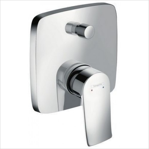 Hansgrohe Taps - Metris Bath Mixer Concealed Plate