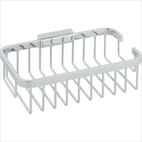 VADO Accessories - Basket Medium Rectangular Wall Mounted