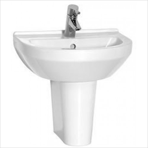 Vitra Basins - S50 Round Basin 50 x 43cm 1TH
