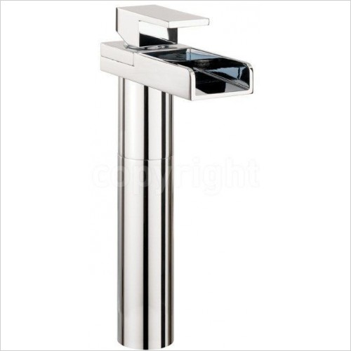 Crosswater Taps - Water Square Basin Tall Monobloc
