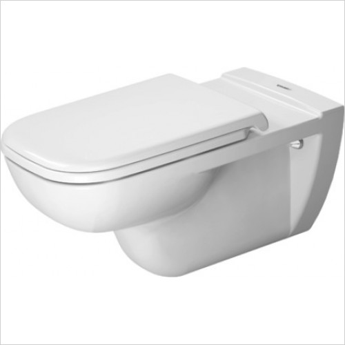 Duravit - Toilets - D-Code Wall-Mounted Toilet 70cm