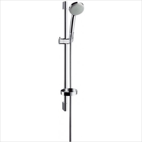 Hansgrohe Showers - Croma 100 1 Jet /Unica'C Set 0.65m
