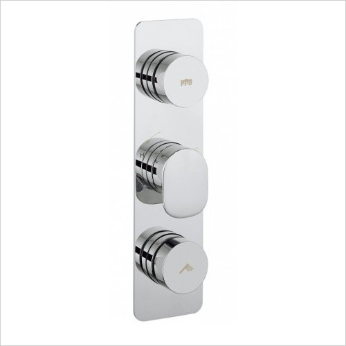 Crosswater Showers - Dial Valve 2 Control With Pier Trim
