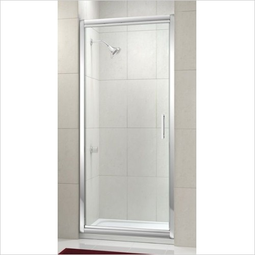 Merlyn Shower Enclosures - 8 Series Infold Door 900mm Incl MStone Tray