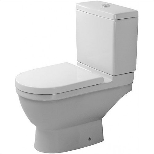 Duravit - Toilets - Starck 3 Toilet Close Coupled Horizontal Outlet Washdown