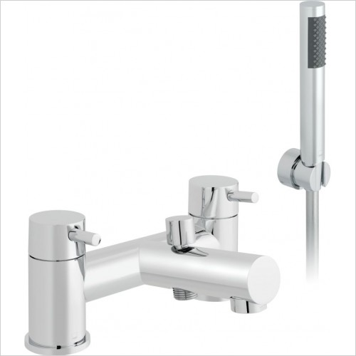 VADO Showers - Zoo 2 Hole Bath Shower Mixer Deck mounted
