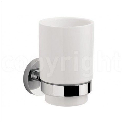 Crosswater Accessories - Central Tumbler Holder Single