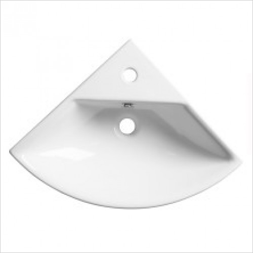 Roper Rhodes Basins - Zest 450mm Corner Basin