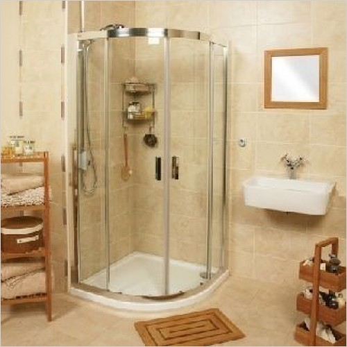 Roman Shower Enclosures - Embrace Quadrant Enclosure 800 x 900mm