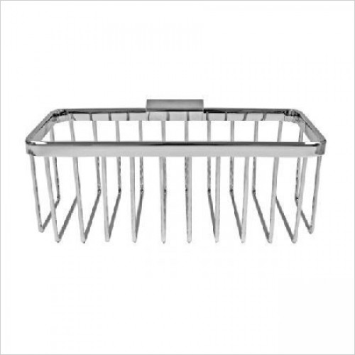 Roman Shower Accessories - Large Rectangular Shower Basket