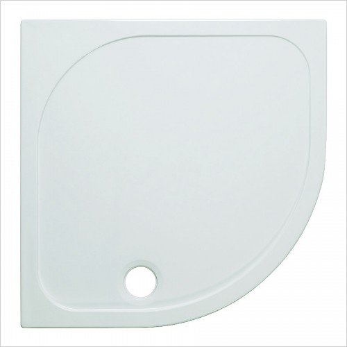 Crosswater Shower Enclosures - Stone Resin Quadrant Tray 800 45mm