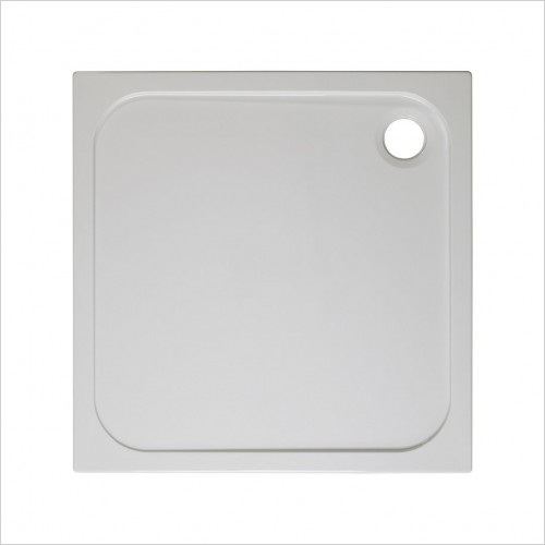 Crosswater Shower Enclosures - Stone Resin Tray 760mm