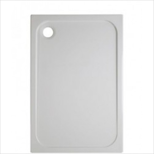 Crosswater Shower Enclosures - Stone Resin Rectangular Shower Tray 900 x 1400 45MM