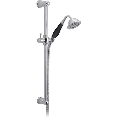 VADO Showers - Traditional Slide Rail Shower Kit