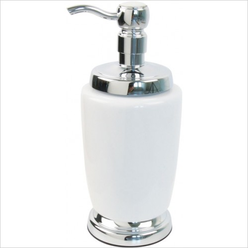 Miller Accessories - Classic Freestanding Ceramic Lotion Bottle
