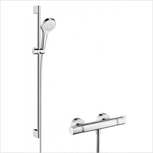 Hansgrohe Showers - Croma Select S Vario Combi Shower Set 900mm