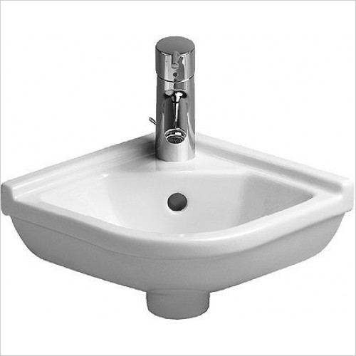 Duravit - Basins - Starck 3 Handrinse Basin 440mm Corner Model