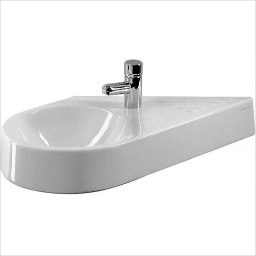 Duravit - Basins - Architec Handrinse Basin 650mm Diagonal Model Basin On Left