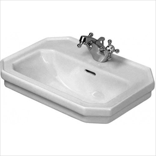 Duravit - Basins - 1930 Series Handrinse Basin 500mm 1 Tap Hole