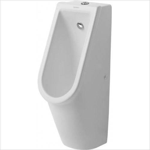Duravit Urinals - Starck 3 Urinal With Nozzle Visible Inlet