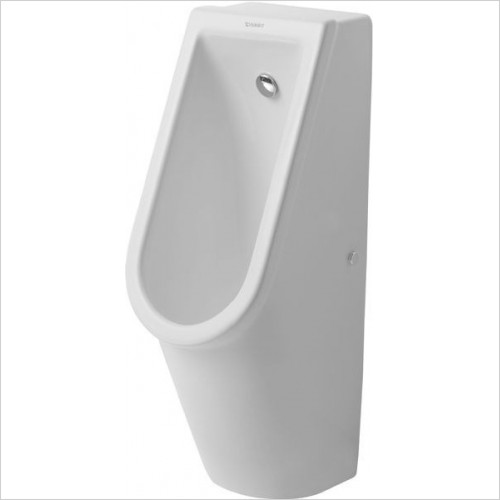Duravit Urinals - Starck 3 Urinal With Nozzle Concealed Inlet With Fly