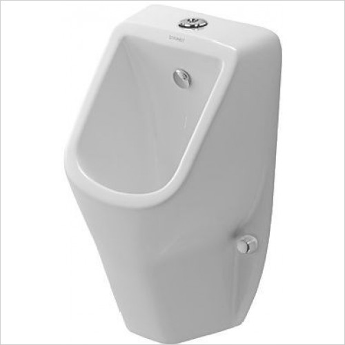 Duravit Urinals - D-Code Urinal With Nozzle Visible Inlet With Fly