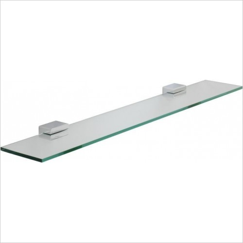 Roper Rhodes Accessories - Horizon Toughened Clear Glass Shelf