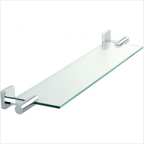 Roper Rhodes Accessories - Glide Toughened Clear Glass Shelf