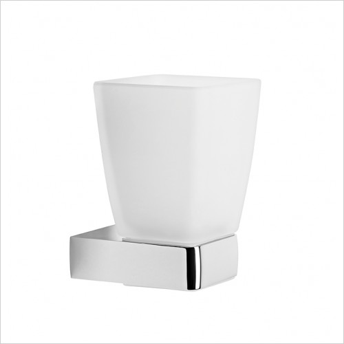 Roper Rhodes Accessories - Media Square Wall Mounted Tumbler
