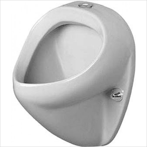 Duravit Urinals - Urinal Jim Visible Inlet With Fly