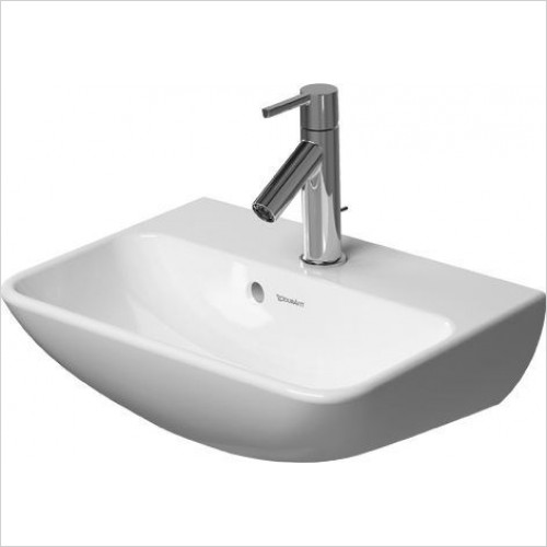 Duravit - Basins - ME By Starck Handrinse Basin 450mm 1 Tap Hole