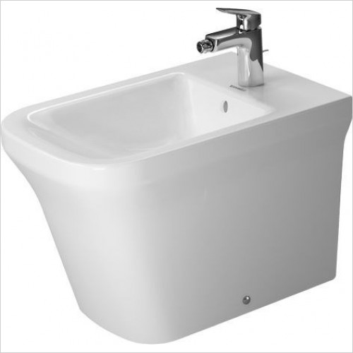 Duravit Bidets - P3 Comforts Bidet Floorstanding 600mm 1TH Back To Wall