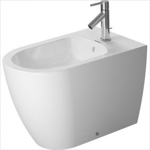 Duravit Bidets - ME By Starck Bidet Floorstanding 600mm 1TH Back To Wall