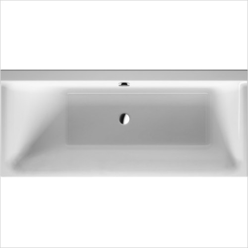 Duravit Baths - P3 Comforts Bathtub 1600x700mm Built-In Or For Panel
