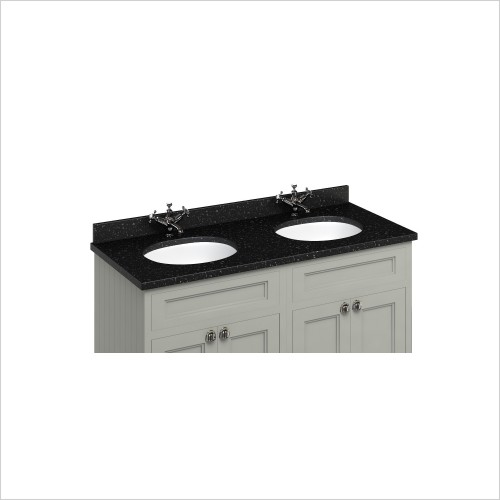 Burlington Basins - Minerva 1300 Top With Double Vanity Bowls For FC9 & FC10