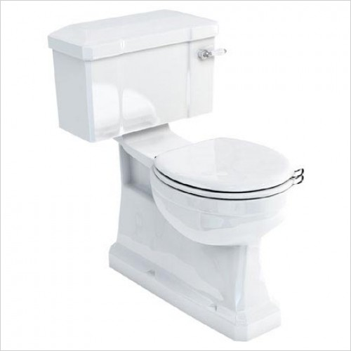 Burlington Toilets - Close Coupled Pan - S Trap
