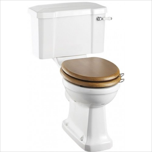 Burlington Toilets - Close Coupled Pan