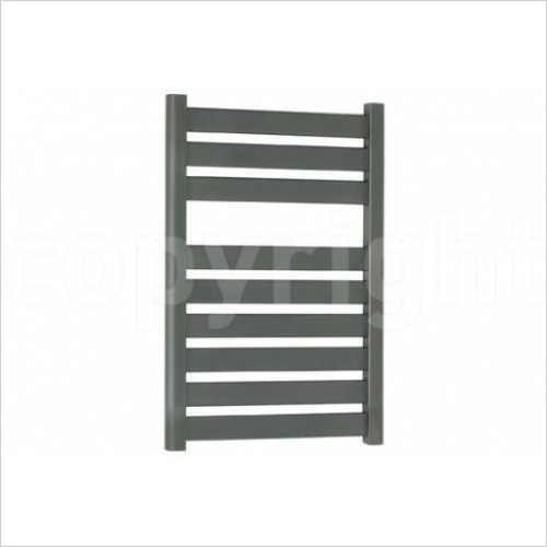 Crosswater Heating - Edge Flat Panel Towel Warmer in 3 Sizes - Anthracite