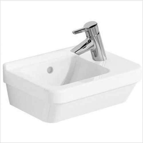 Vitra Basins - S50 Compact Basin 40 x 28cm 1TH RH