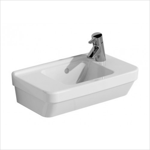 Vitra Basins - S50 Compact Basin 50 x 28cm 1TH LH