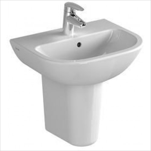 Vitra Basins - S20 Cloakroom Washbasin 45cm 1TH