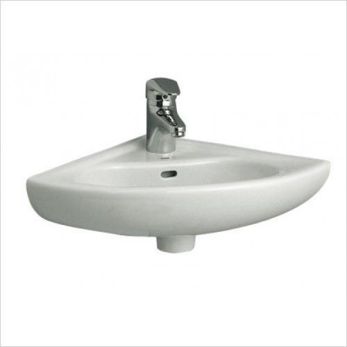 Vitra Basins - Arkitekt Corner Basin 40cm 1TH