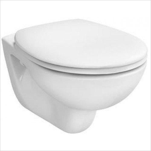 Vitra Toilets - Commercial Arkitekt Wall-Hung WC Pan