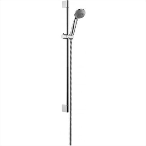 Hansgrohe Showers - Crometta 85 Green Unica'Crometta Shower Full Set 0.65m