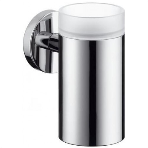Hansgrohe - Accessories - Logis Glass Toothbrush Tumbler Holder