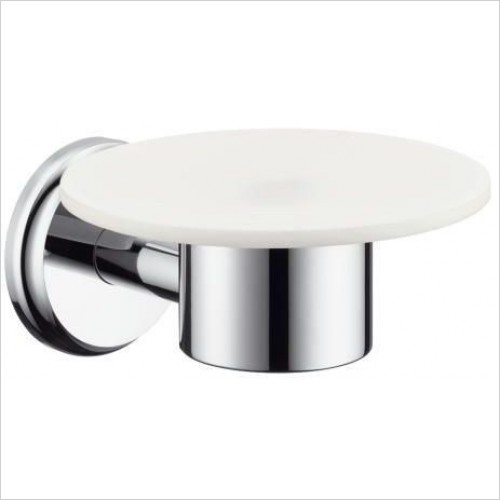 Hansgrohe - Accessories - Logis Classic Ceramic Bathroom Soap Dish